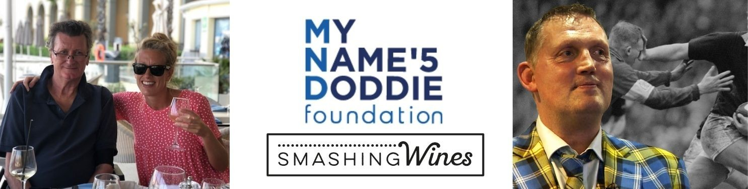 Smashing Wines Charity Raffle for My Name'5 Doddie